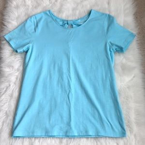 Talbots blue tshirt